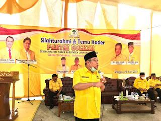 H. Tony Eka Candra (TEC): Kerja Keras Kader, Menangkan Partai Golkar Pada Pemilu 2024