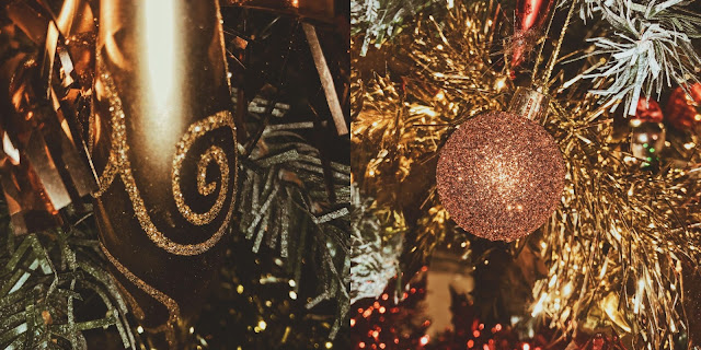long & sparkly baubles