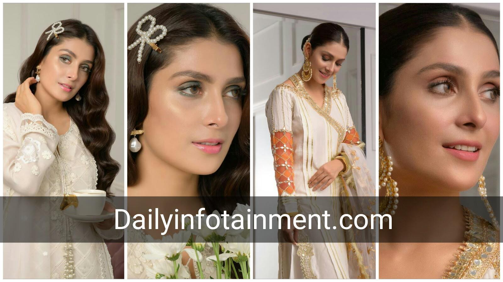 Ayeza Khan Simple and Elegant Pictures from Eid 3rd Day