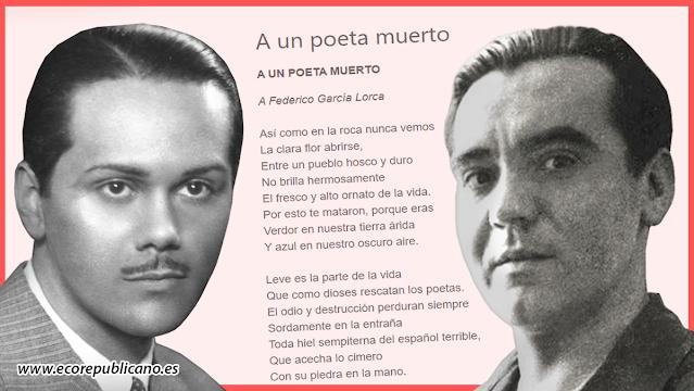 Luis Cernuda y Federico García Lorca