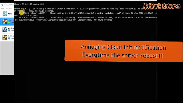 How to remove cloud-init from Ubuntu Server 20.04