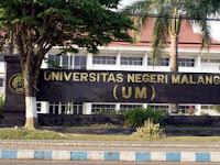 PENDAFTARAN MAHASISWA BARU (UNIVERSITAS NEGERI MALANG) 2020-2021