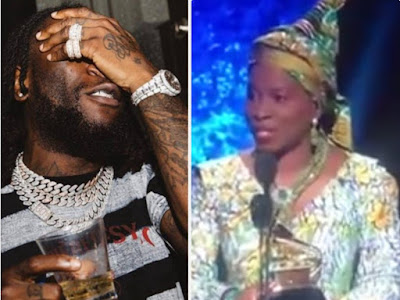 Why Grammy Winner Angelique Kidjo  Accepts Burna Boy Was Ignored To Favor Her