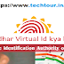 What is Aadhaar Virtual I'd? And How to Generate it in English