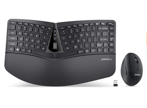 Perixx PERIDUO-606 Wireless Mini Ergonomic Keyboard