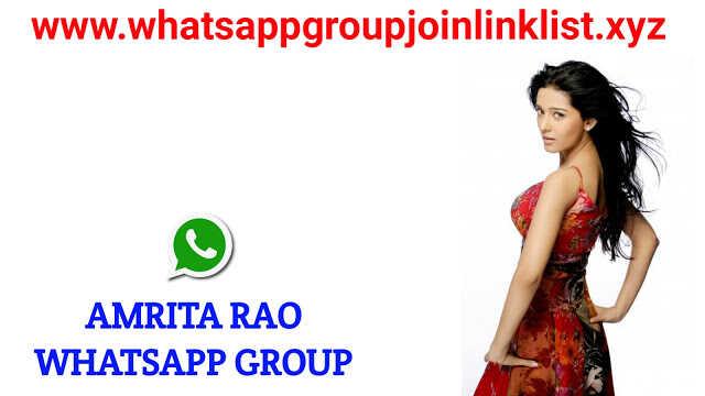 Amrita Rao Fans Whatsapp Group Join Link List