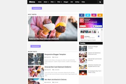 Mocca Template Responsive Terbaru untuk Blogspot Bikinan Mba Arlina