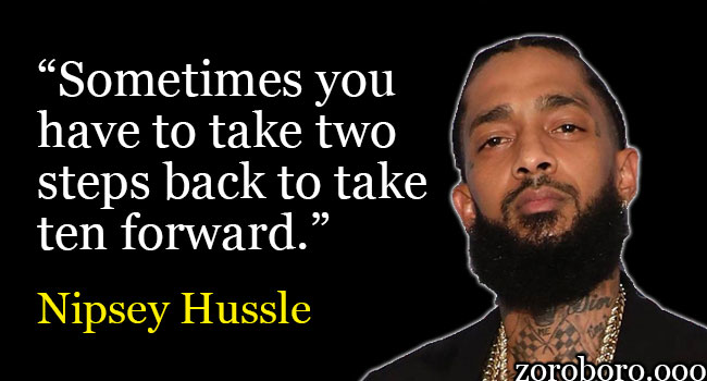 Nipsey Hussle Quotes For Dreamers. Purposeful Life Music ...