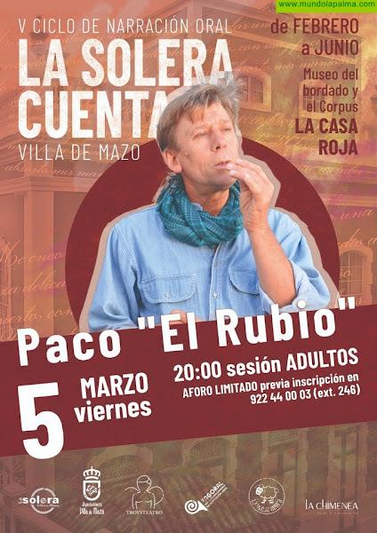 Continúa el V ciclo de narración oral 'La Solera Cuenta' con una sesión dirigida al público adulto