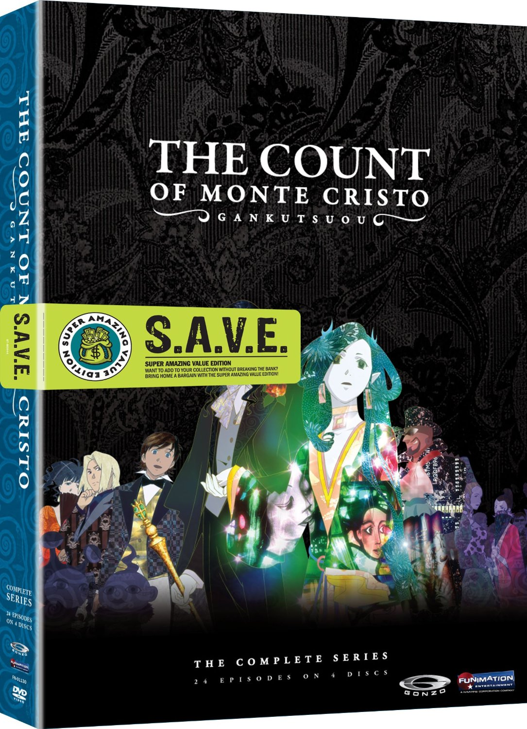 taliesin meets the vampires the count of monte cristo gankutsuou the count of monte cristo gankutsuou review