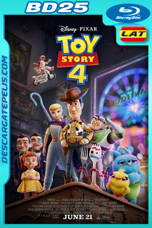 Toy Story 4 (2019) 1080p BD25 Latino – Ingles