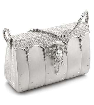 6828ee0b72e4 The most expensive bag in the world was created by a Japanese jeweler Ginza  Tanaka. This cover of diamonds 2.000 therefore has 208 carats.