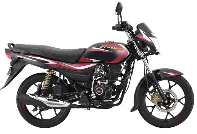 Bajaj Auto launches 'Platina 110 H-Gear' - The Most Comfortable Platina ever