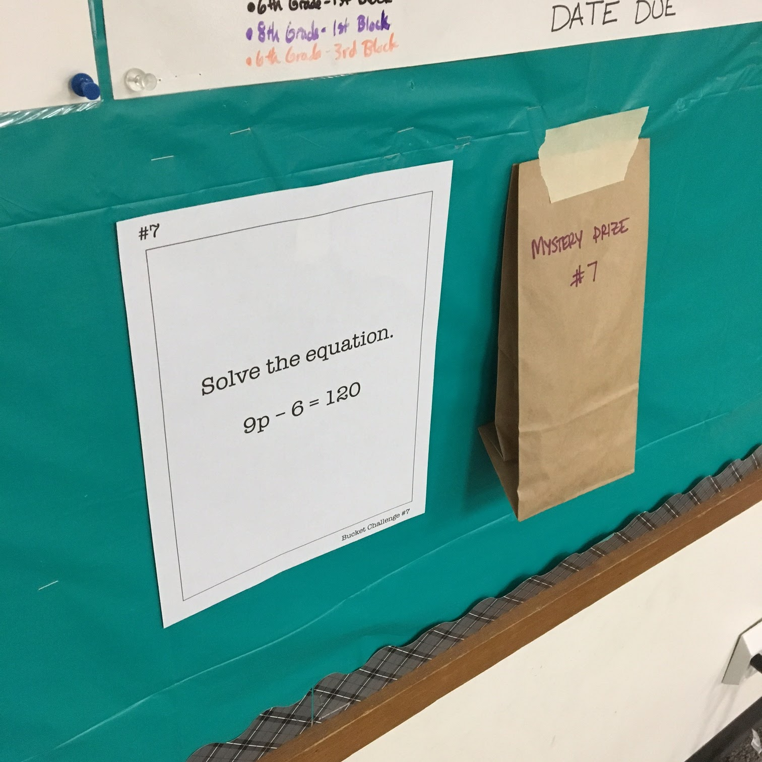 Middle School Math Man: Mystery Prize Review Activity (For Any Topic ...