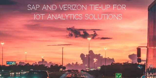 SAP and Verizon tie-up for IoT Analytics Solutions