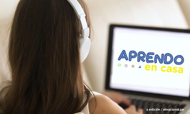 Aprendo en Casa, horarios y programas, educación inicial, primaria y secundaria desde casa, desde lunes 6 de abril