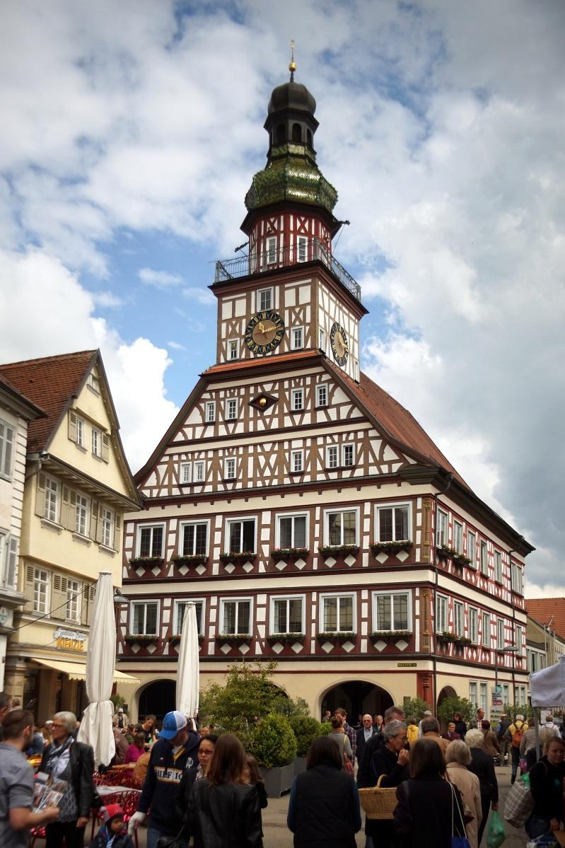 Das Rathhaus zu Kirchheim/Teck