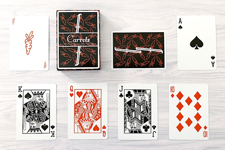 Fontaine playing cards carrots v2 and v3