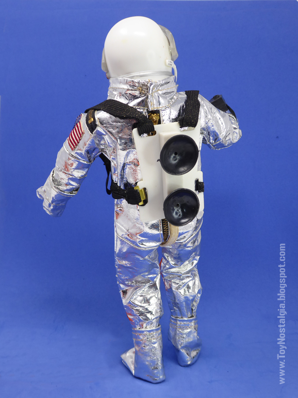 ACTIONMAN Astronaut Space Suit MK4 + Suction Cups (ACTION MAN ASTRONAUT  HASBRO-PALITOY)