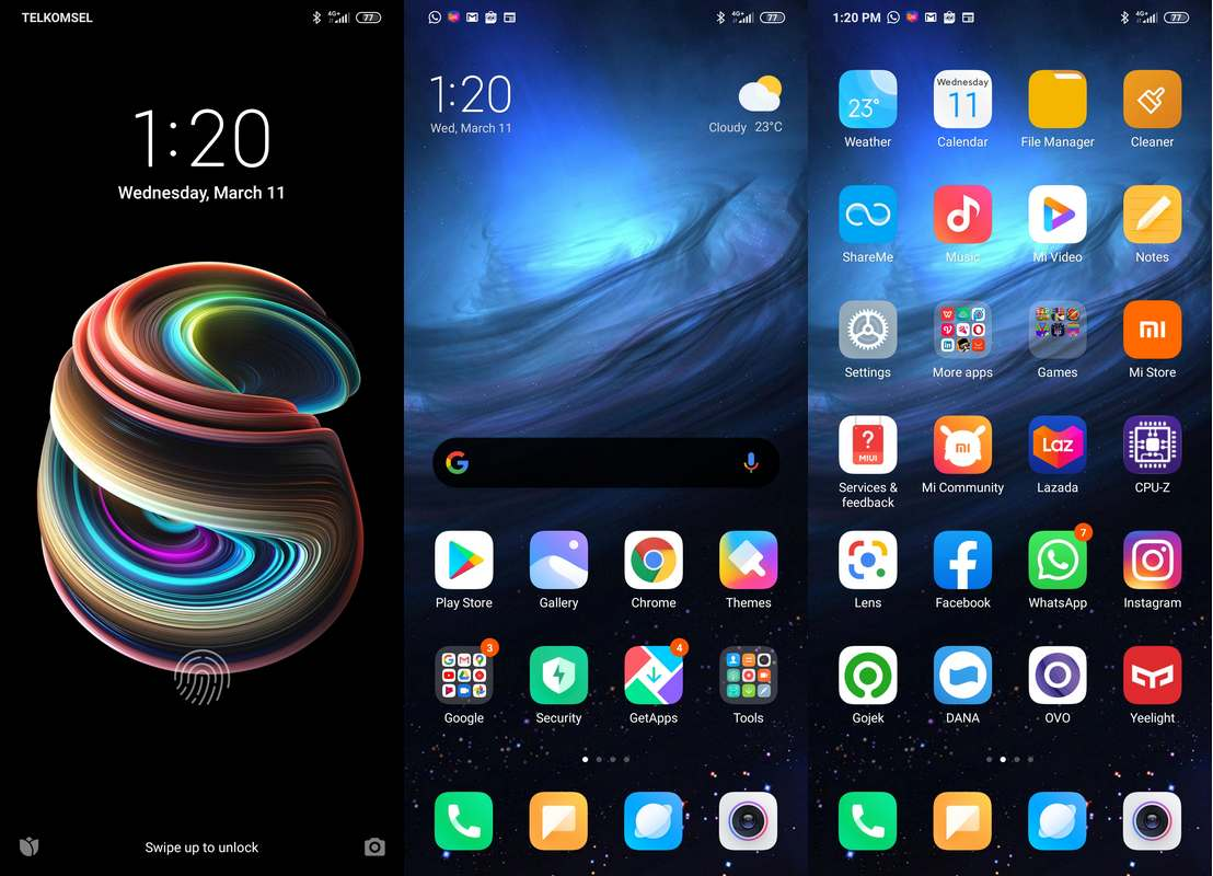 Software & Fitur Xiaomi Mi Note 10 Pro