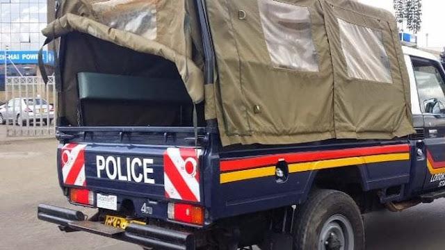Police car photo in Migori