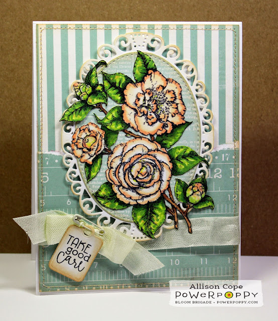 Featuring Simply Camellias by Power Poppy & Allison Cope