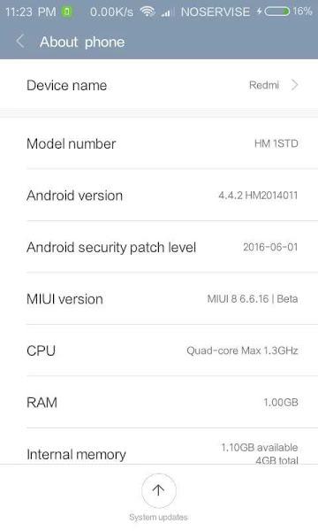 MIUI 8 kk 4.4.2