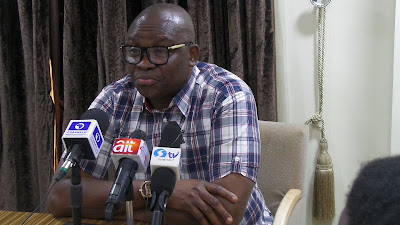 Fayose reaction on Police invasion of Saraki, Ekweremadu's residences [I warned Nigerians]