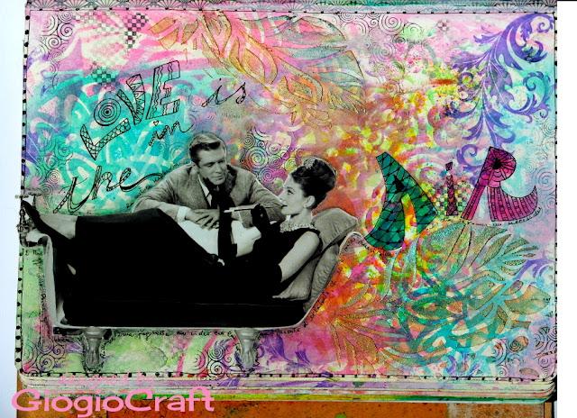 ArtJournal page Colazione da Tiffany