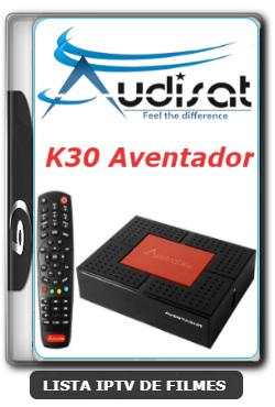 Audisat K30 Aventador Nova Atualização Melhorias no Sistema V2.0.47 - 22-01-2020