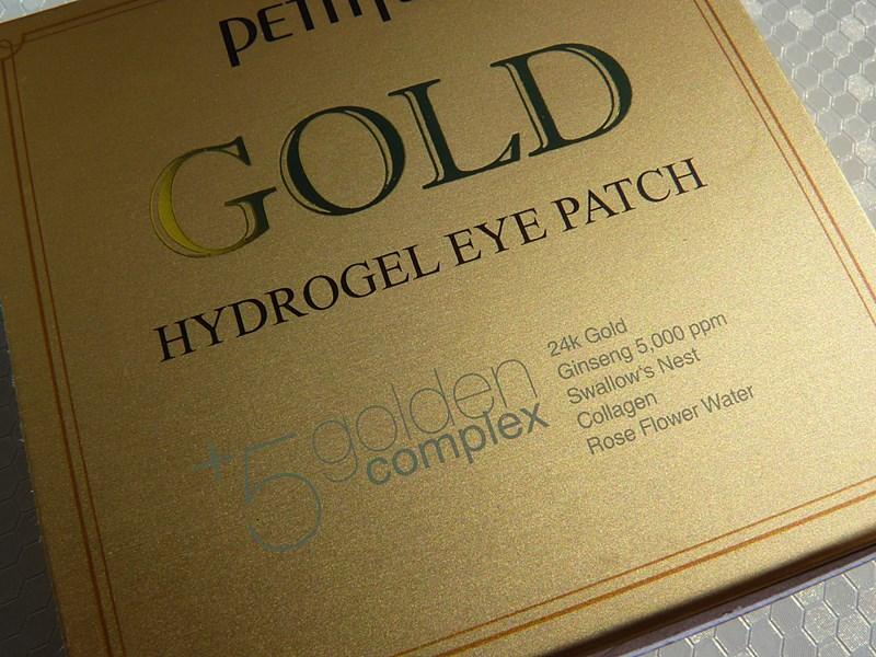 Petitfee GOLD Płatki pod oczy ze złotem
