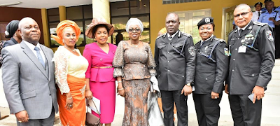 Photographs: Wife of Lagos state Governor.Mrs Bolanle Ambode at Easter celebration