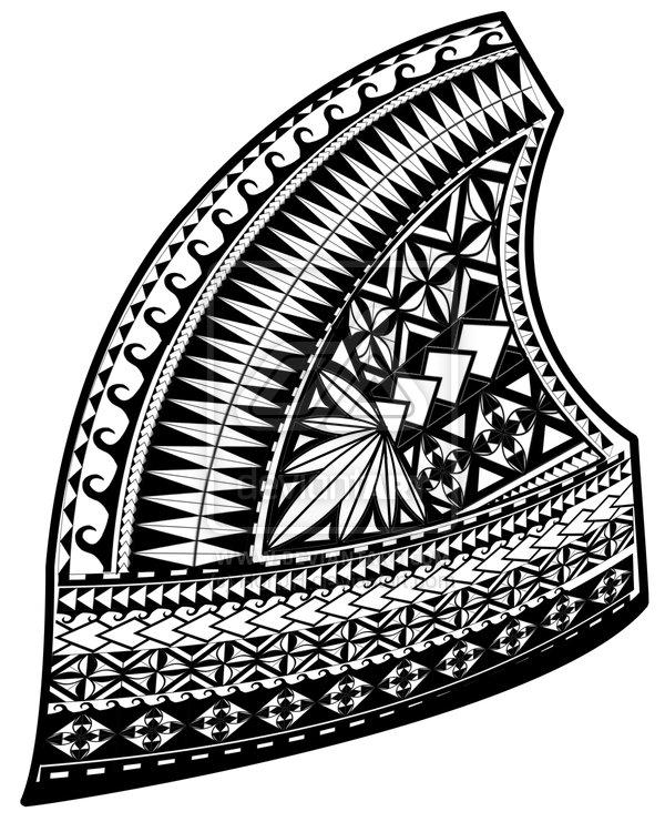 samoan design upper left chest by ronjh