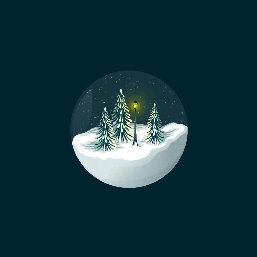 Cute Winter Snowglobe Christmas Wallpaper Engine | FREE