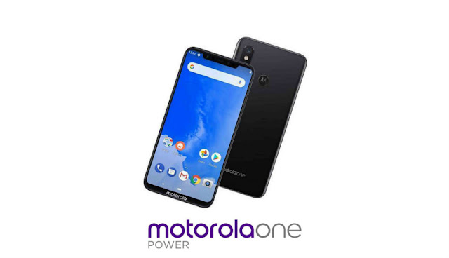 motorola power one con android one y notch en pantalla