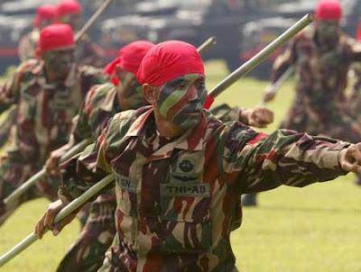 Militer Paling Berbahaya di Dunia