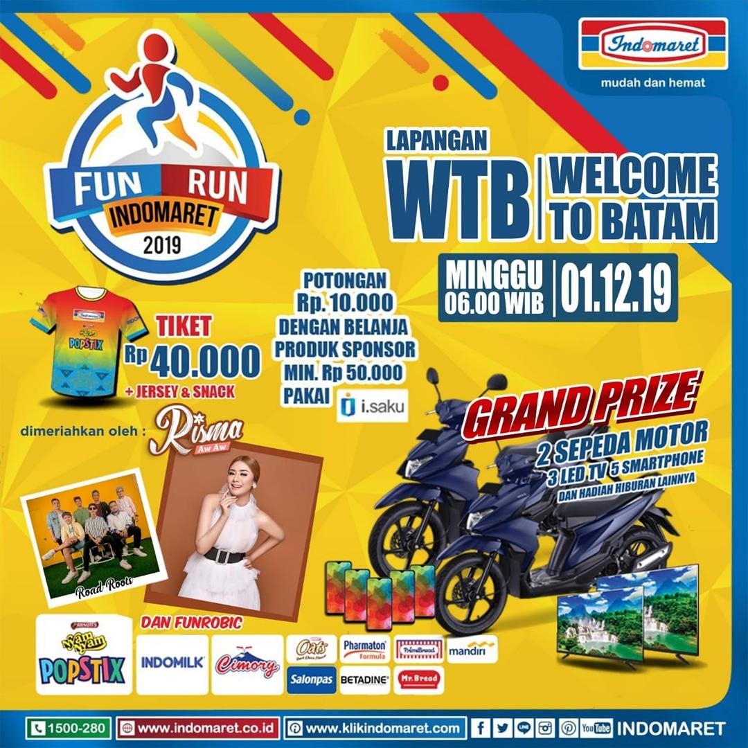 Fun Run Indomaret - Batam • 2019