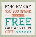 Sale-a-Bration: Jan 4 - Mar 31