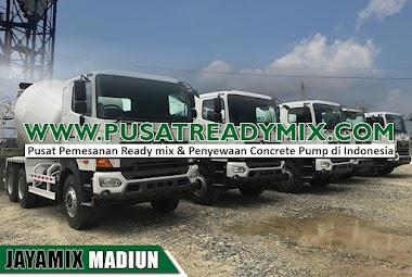 Harga Beton Jayamix Madiun Per M3 & Per Mobil Molen 2021