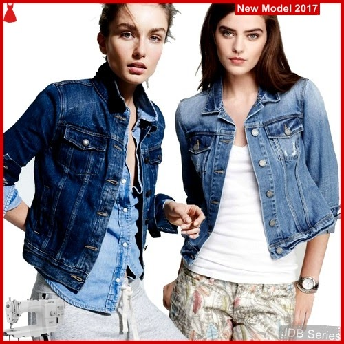 JDB007 FASHION Denim Jcr Perempuan Jacket BMGShop