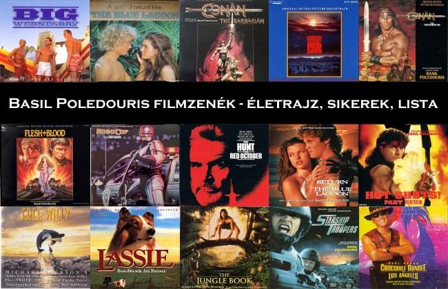 Basil Poledouris filmzenék, életrajz, sikerek, lista