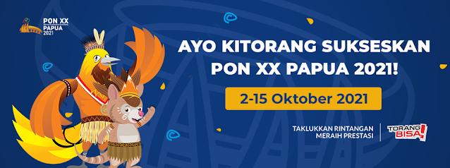 Pekan Olahraga Nasional (PON) XX 2021 di Papua