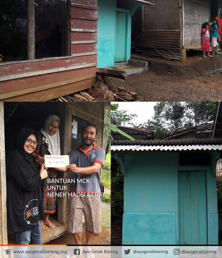 Cerita dari Relawan: MCK untuk Nek Hadsi