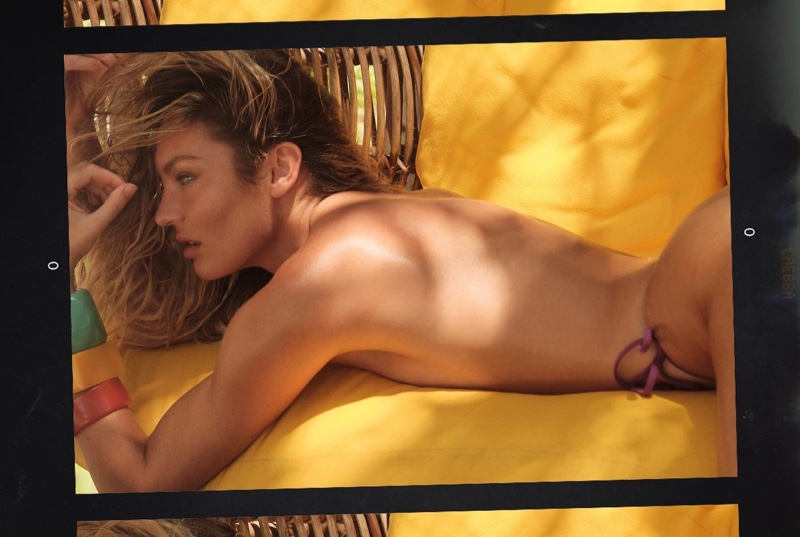Going topless, Candice Swanepoel flaunts her figure in Tropic of C summer 2021 campaign