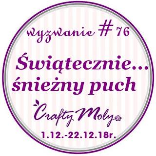 http://craftymoly.blogspot.com/2018/12/wyzwanie-76-swiatecznie-sniezny-puch.html