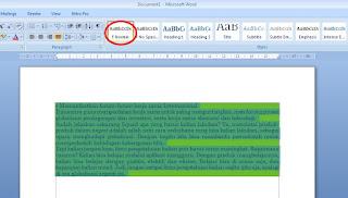 cara mudah copy paste artikel ke word