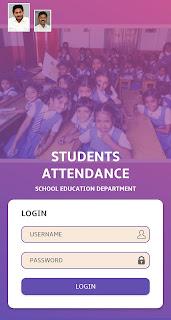 Student Attendance App- App to capture the school children attendance