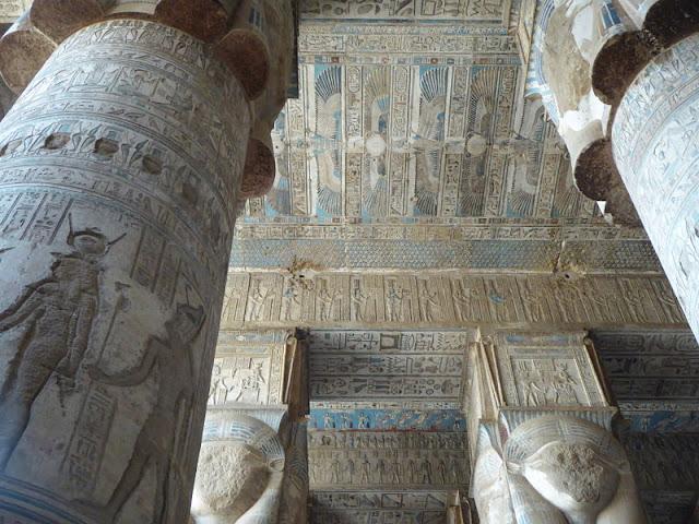 sala ipostila tempio dendera