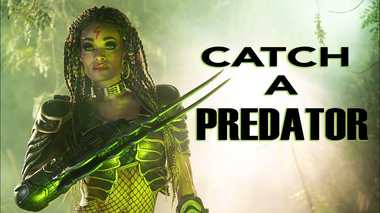DANGEROUS Lighting - Capturing a Predator!!!