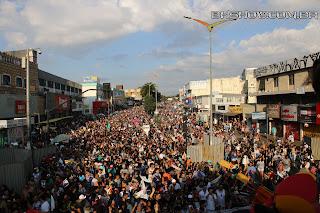 IMG 9972 - 13ª Parada do Orgulho LGBT Contagem reuniu milhares de pessoas
